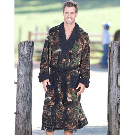 Men S Wilderness Camo Black Robe Camo Camo Outfits