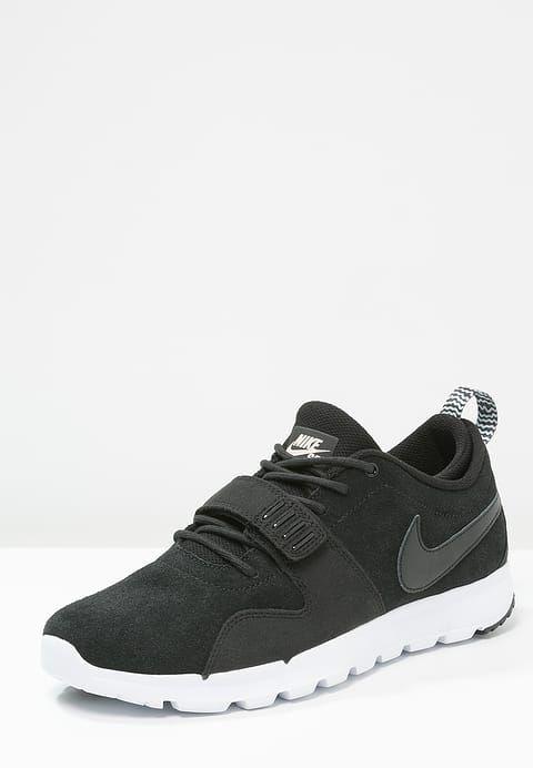 Skate shoes Nike SB TRAINERENDOR - Baskets basses - black/white noir: 57,00 € chez Zalando (au 16/09/17). Livraison et retours gratuits et service client gratuit au 0800 915 207.
