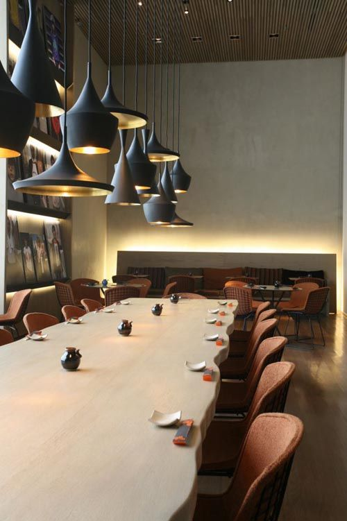 Modern Restaurant Design - The Sushi Bar of Kosushi Restaurant