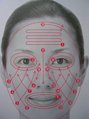 masaje facial japonés. Usted se sorprenderá de lo más apretada, levantado, y radiante su piel se verá después de un masaje facial!