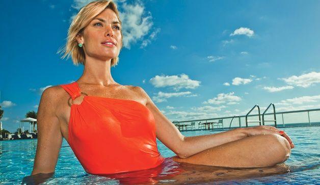 Allenamento in acqua di 10 minuti Spruzza i chili di troppo con questa divertente routine. www.p …
