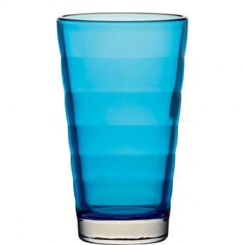 Oryginalna i elegancka szklanka do drinków z serii Wave marki Leonardo. Wave to nowoczesna linia produktów, którą charakteryzują charakterystyczne szerokie pasy wyczuwalne w szkle. Dają one czarujący efekt rozproszenia światła. Leonardo to niemiecka marka, która słynie z produkcji najwyższej jakości szkła, którego design przełamuje standardy codzienności. Świeże, interesujące pomysły Leonardo zawsze cieszą się ogromnym uznaniem wśród odbiorców.