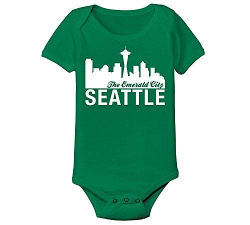 Seattle Seahawks Baby Shirt