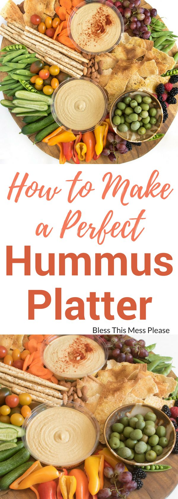 How to Make a Perfect Hummus Platter AD