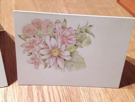 Stampin' Up! #1 Demonstrator Pootles – Heartfelt Blooms – Free Sale a Bration Stamp Set How pretty is this card? I cannot take any credit for the idea of colouring over the stampe…