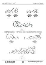 wrought iron fence panels (11)