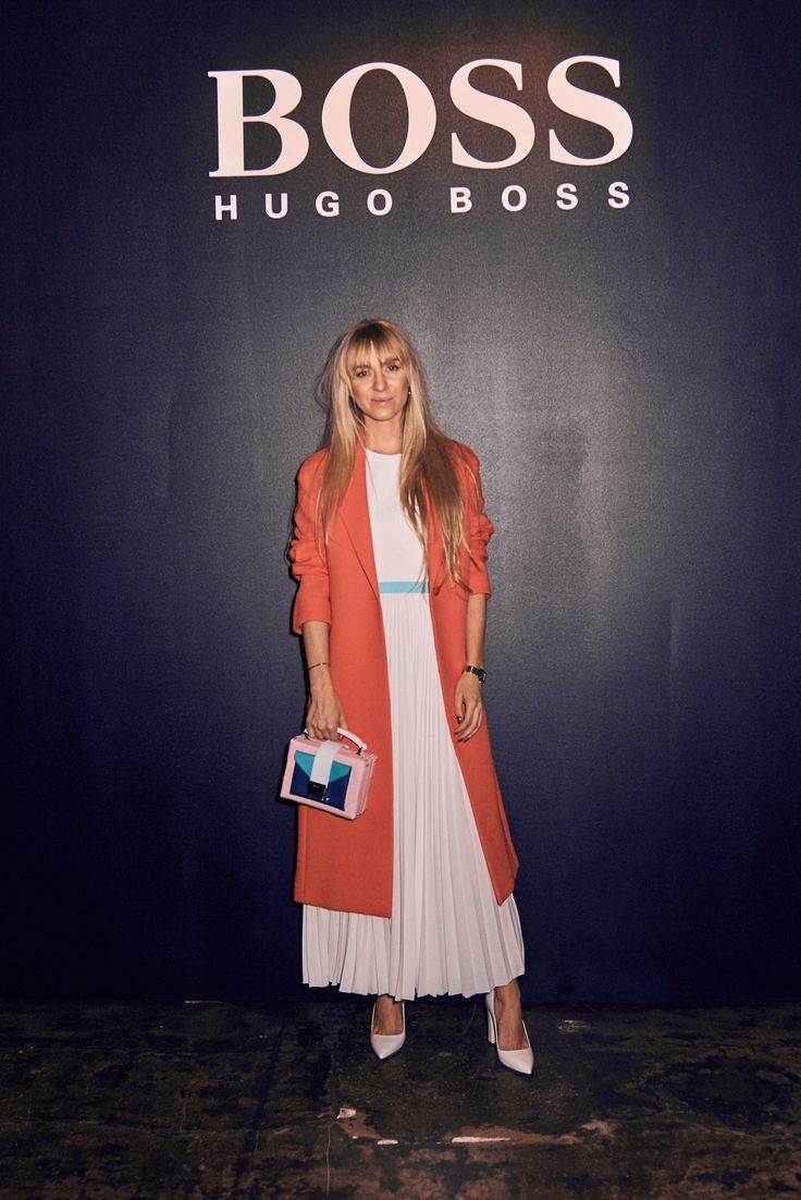 Sandra Hagelstam at BOSS Womenswear Gallery Collection presentation