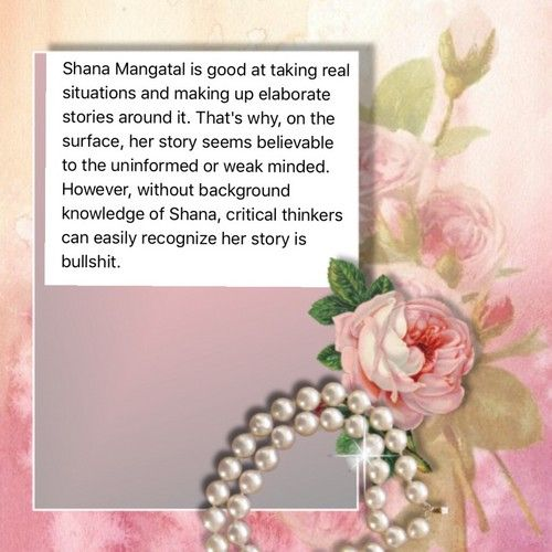 Shana Mangatal fraud