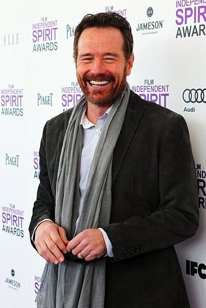 Sorry peeps, All this awards silliness has just reminded me how totally smoking hot Bryan Cranston is.