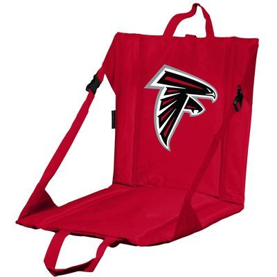 Logo Brands Stadium Chair NFL Team: Atlanta Falcons