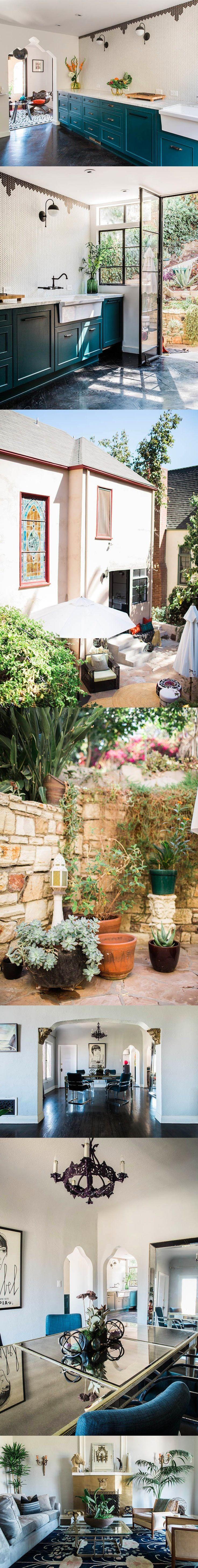 Candis Cayne muestra su casa / http://www.designsponge.com