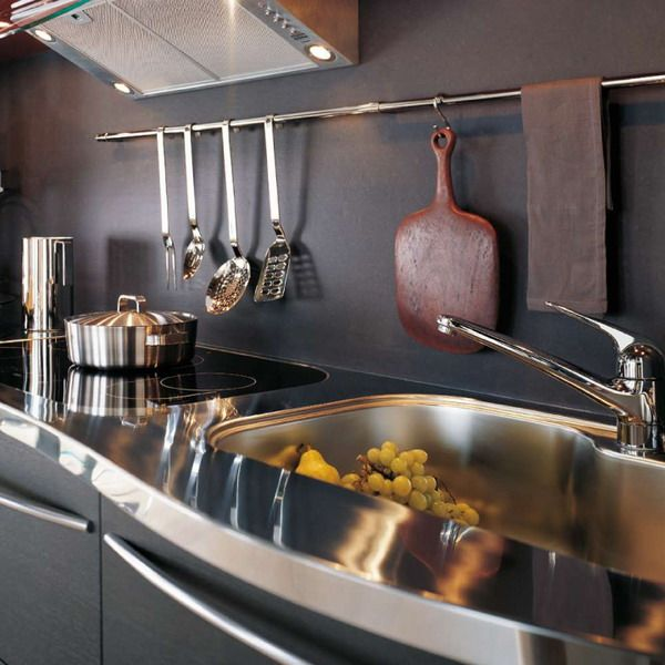 Kitchen Organization: Top 15 Kitchen Rail Storage Ideas | eatwell101.com