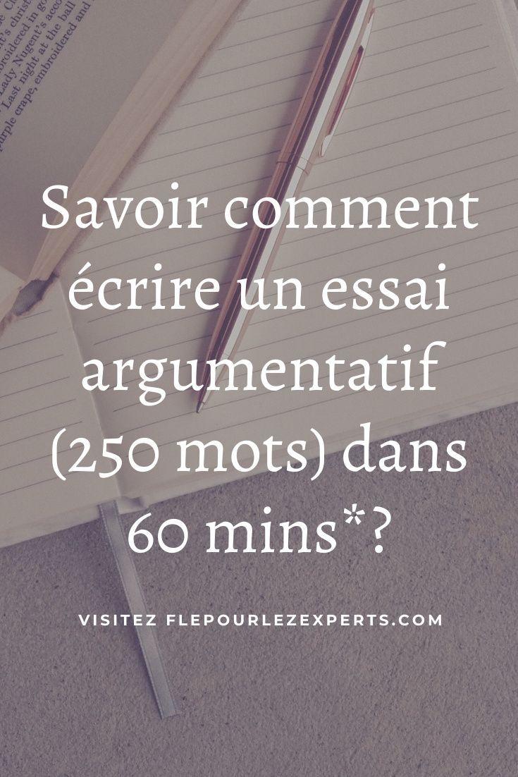 Essai Argumentatif Conseils Pour Rediger Un Essai Argumente Dans Une Epreuve Delf B2 Dalf C1 French Language Learning French Language Language