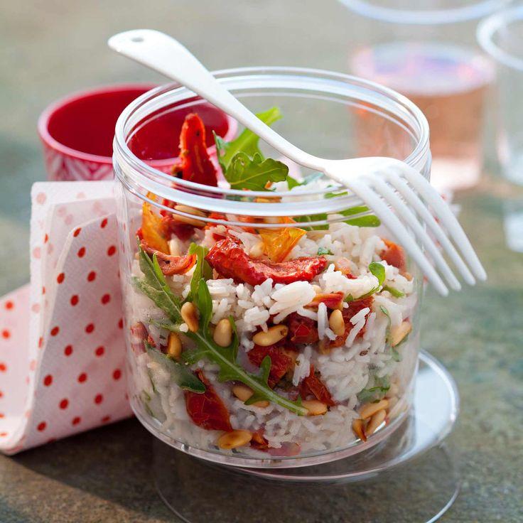 Découvrez la recette de la salade de riz à l'italienne