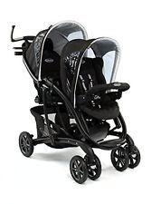 Pushchair Twin Seat Double Child Baby Duo Quattro Buggy Stroller Pram Tandem