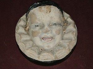 Pierrot Gourmand Publicité En Plâtre Début Xxème | eBay