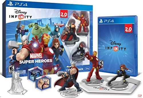 Discounted Disney INFINITY: Marvel Super Heroes (2.0 Edition) Video Game Starter Pack - PlayStation 4