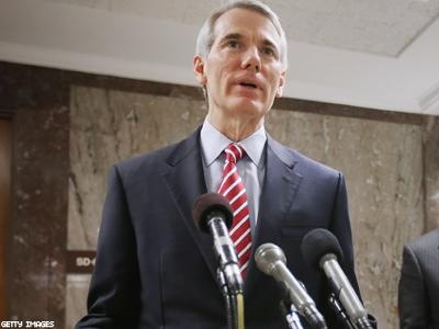 """The U.S. Senate now has its first Republican to support marriage equality, with Ohio's Rob Portman today announcing """"a change of heart"""" spurred on because his son is gay.    Portman is a high-profile member of his party and was often mentioned as a vice presidential pick for Mitt Romney. He's President George W. Bush's former budget director. He credits Dick Cheney, an advocate for marriage equality whose daughter is a lesbian, with advising him to """"do the right thing, follow your heart,"""""""