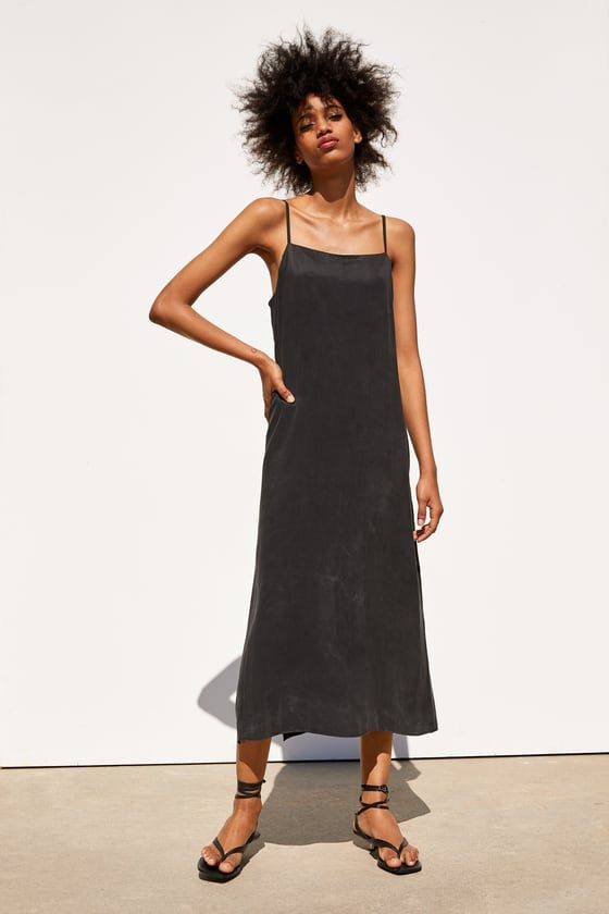cf22937cb2 FLOWING DRESS - View all-DRESSES-WOMAN | ZARA South Africa | Dresses ...