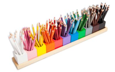 Mon joli petit bureau: DIY : Pot à crayons façon Montessori