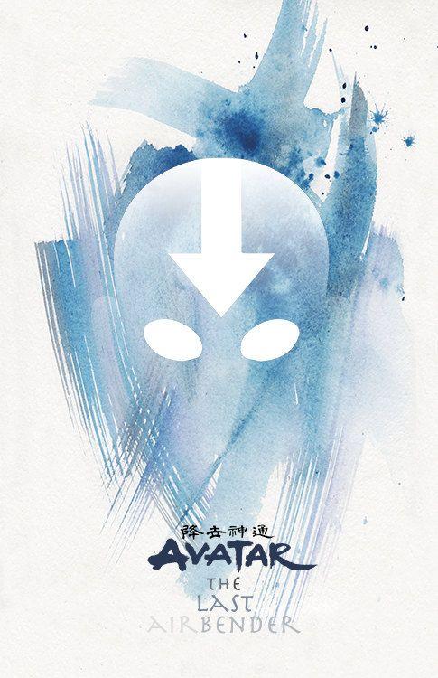 AVATAR The Last Airbender- avatar- poster hanger- avatar the last airbender poster- movie poster- avatar print- avatar poster- aang poster