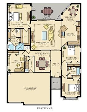 The Princeton Ii New Home Plan In Savanna At Lakewood