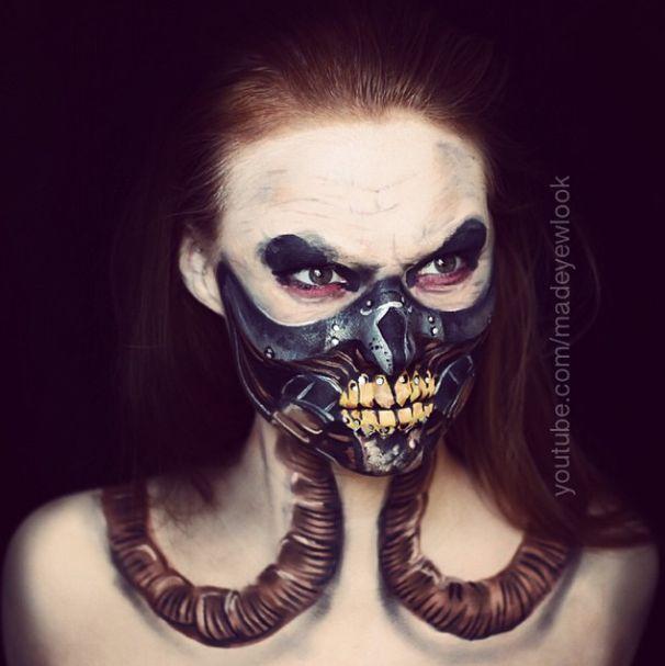 MAD MAX Makeup Tutorial | Immortan Joe