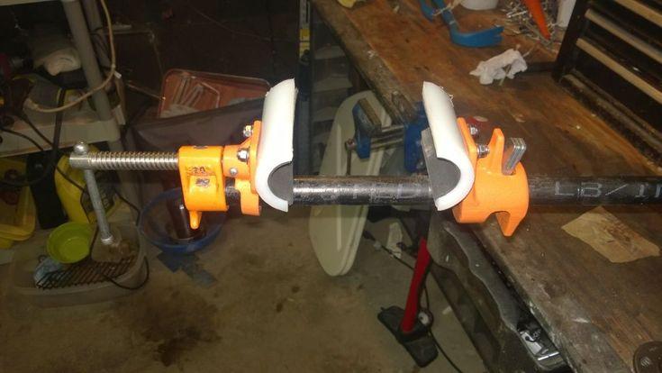 homemade bike repair stand clamp - Google Search #bikerepairstand