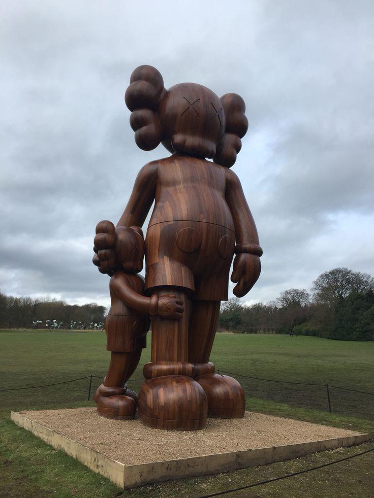 Yorkshire sculpture park, Kaws