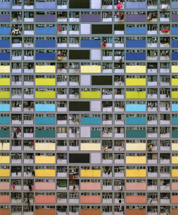 Michael Wolf - Architecture of density #75, 2009