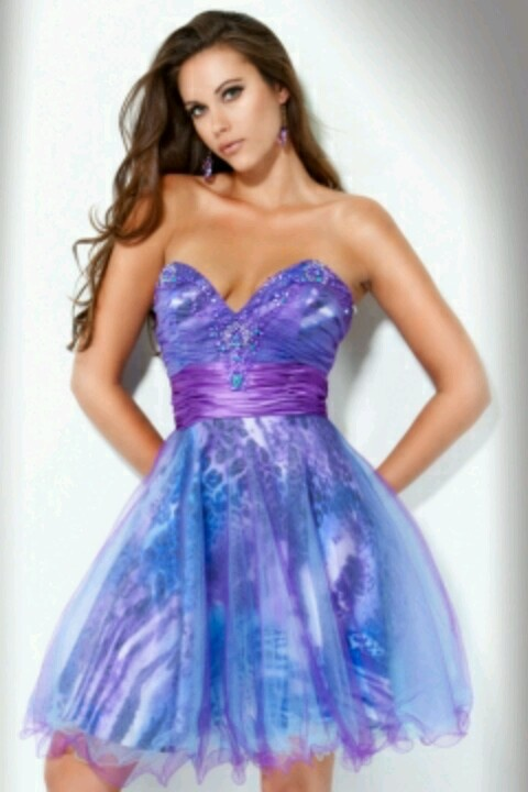 Jovani- Dream 8th grade grad dress.