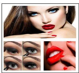 Maquillaje para San Valentín, encuentra el paso a paso aquí... http://www.1001consejos.com/maquillaje-para-san-valentin/