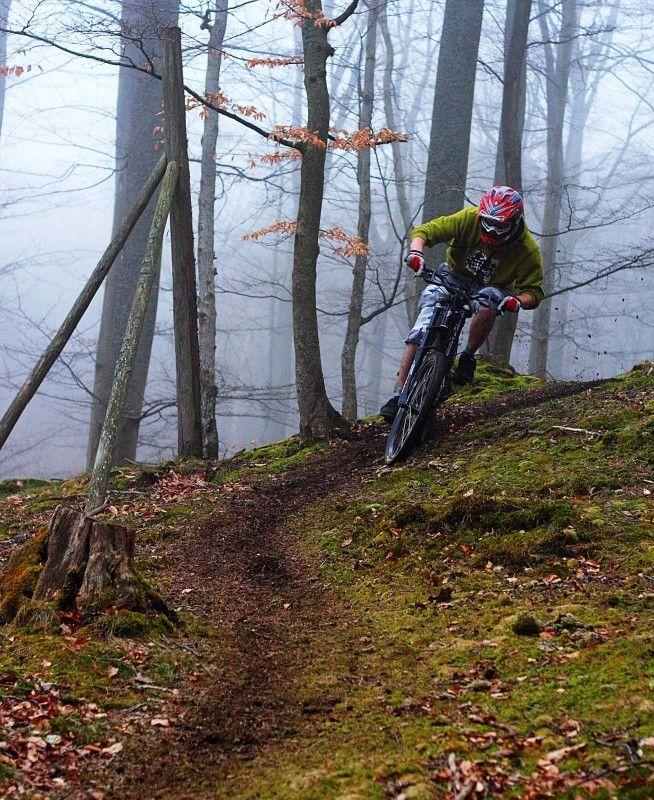 Love single track! Ah Kyron you did so enjoy yr mountain biking xxx