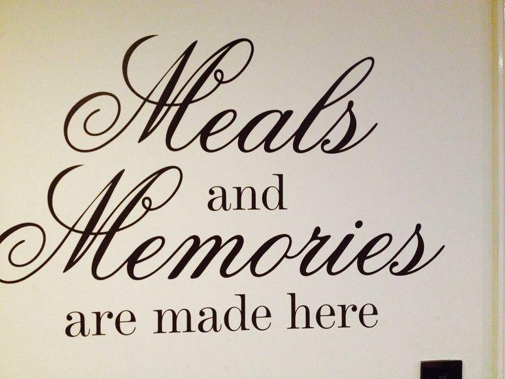 Best 25 kitchen decals ideas on pinterest wall stickers for Kitchen quote decals