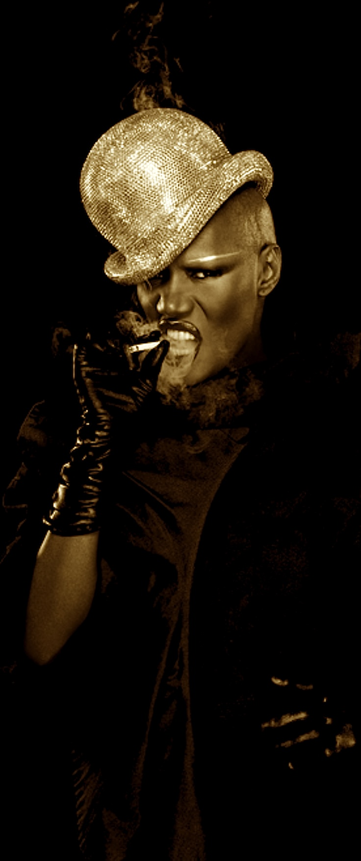 Madonna who? Lady gaga who, this where they got their style from...Grace Jones