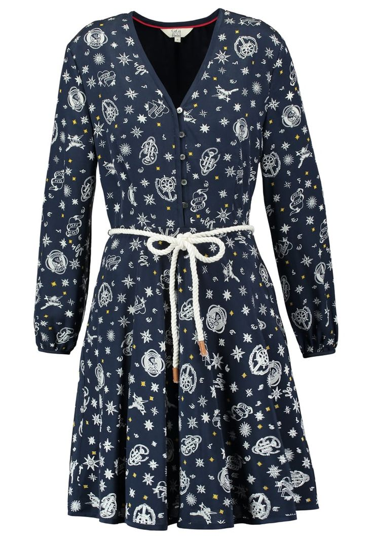 Tommy Hilfiger GIGI HADID - Summer dress - blue - Zalando.co.uk