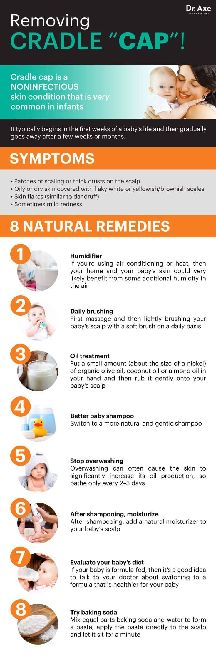 8 Natural Fixes for Cradle Cap Home Remedy For Warts
