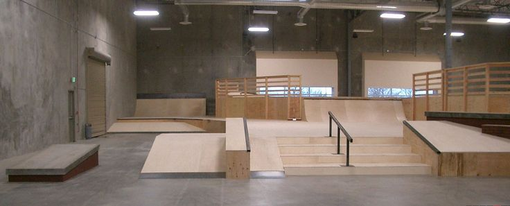 private indoor skatepark - Google Search