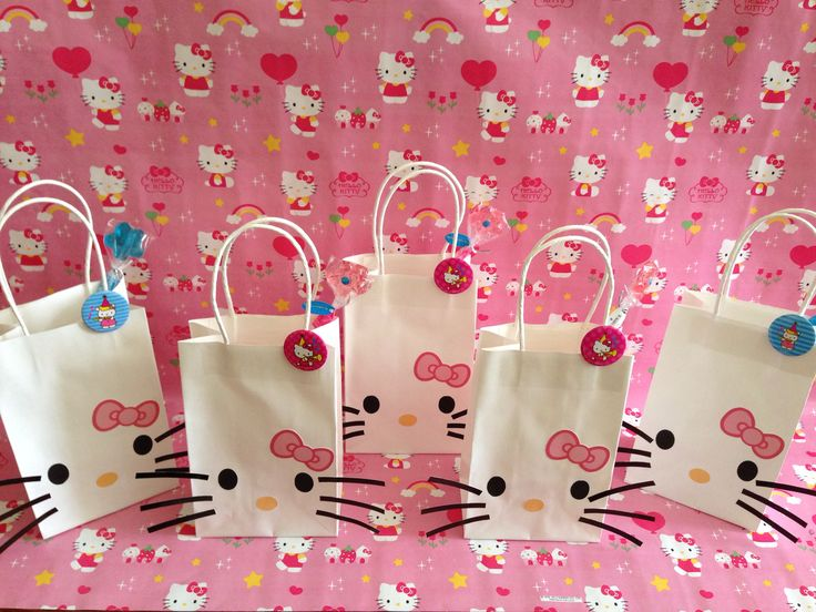 4 Ideas For A Hello Kitty Birthday Party