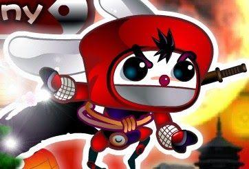 Play Ninja Bunny Action Online Games Free