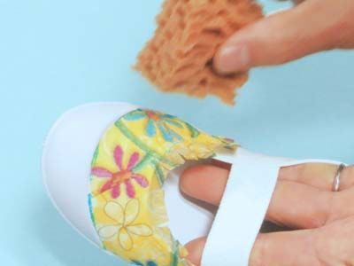 デコ上履きの作り方7