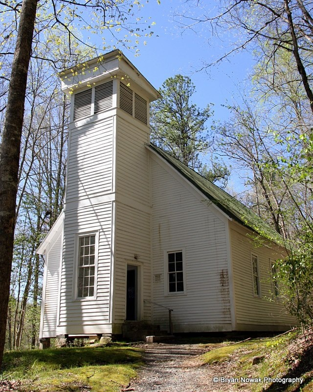 Historic Smokemont Baptist Church Parque Nacional de las Grandes Montañas Humeantes
