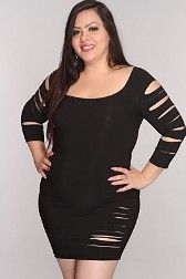 Plus Size Clubwear --This is a great example of just how sexy and fun plus size clubwear can be.