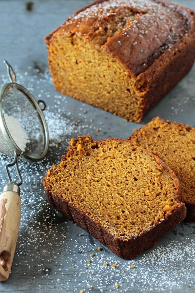 Pumpkin Bread Recipe | My Baking Addiction: I made this last night and it is seriously the best recipe for Pumpkin bread I have ever tried. It's moist and the loaf looked so Pretty!!! Unlike some other recipes that turn out flat and heavy.