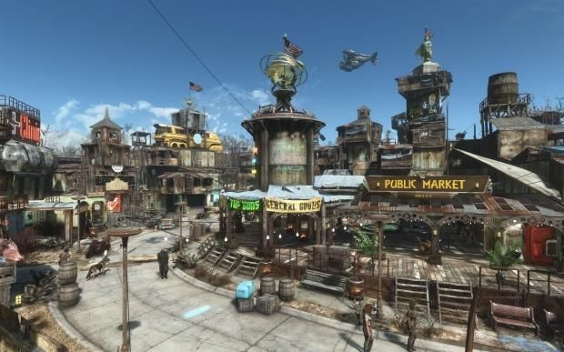 Blade Runner meets Fallout 4 in this amazing settlement creation 9 | TweakTown.com