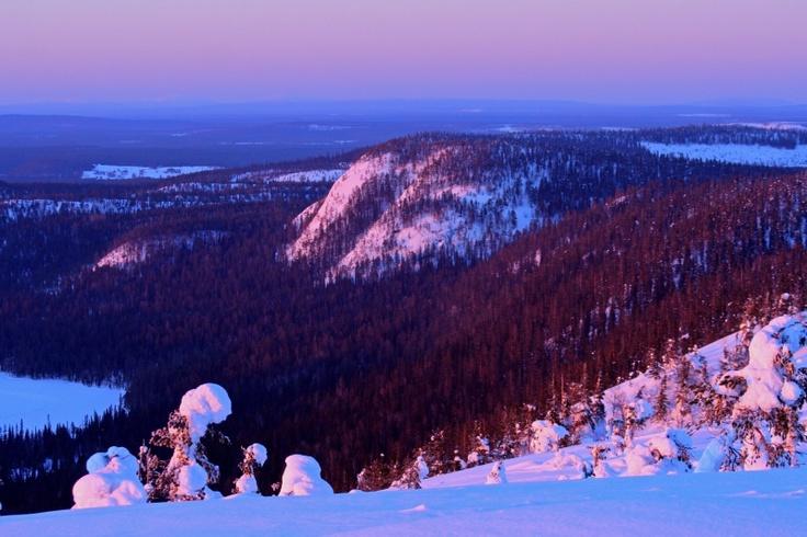 Konttainen, near Ruka, Finnish Lapland