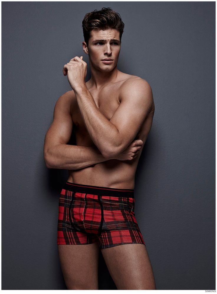 Edward Wilding Models Underwear for Simons | CAIN | Edward ...