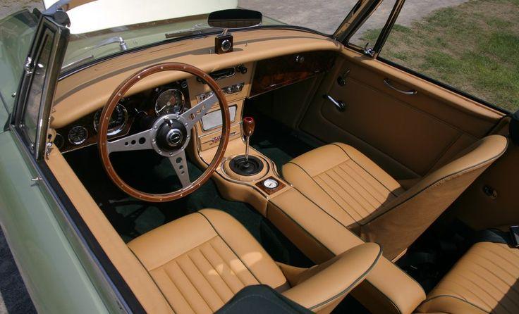 austin healey 3000 interior austin healey 3000 mk111 sport car interiors Luxury Car Interior