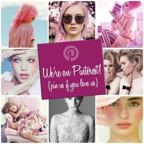 We're on Pinterest!  {pin us if you love us}