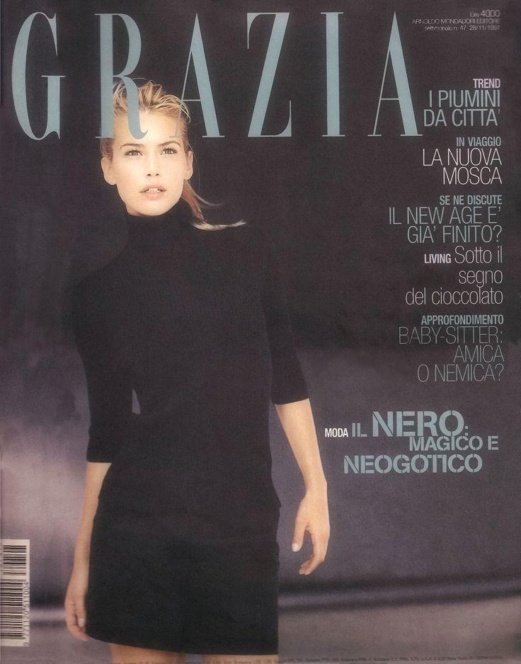 Grazia Nº 47 November 28, 1997. Valeria Mazza